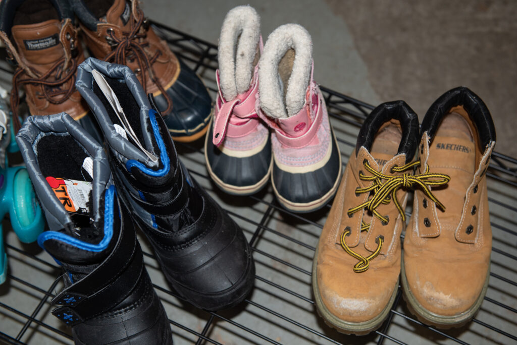 Donate clothing - Boots